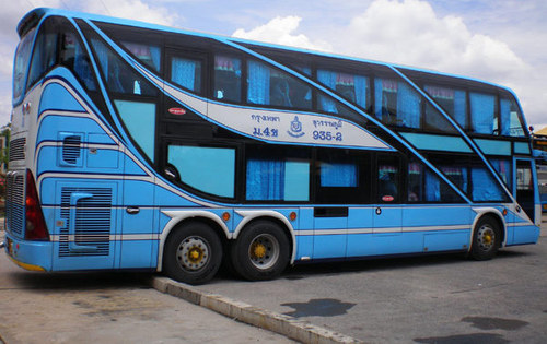 Thailand city bus