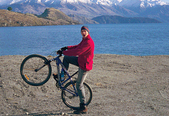 Mountain biking near Taupo