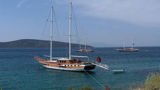 Gulet boat, , Turkey