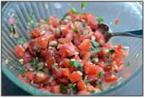 dice tomatoes