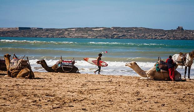 Sidi Kaouki beach Morocco