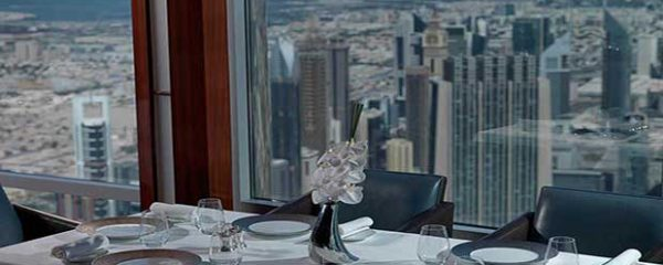 Atmosphere restaurant Dubai