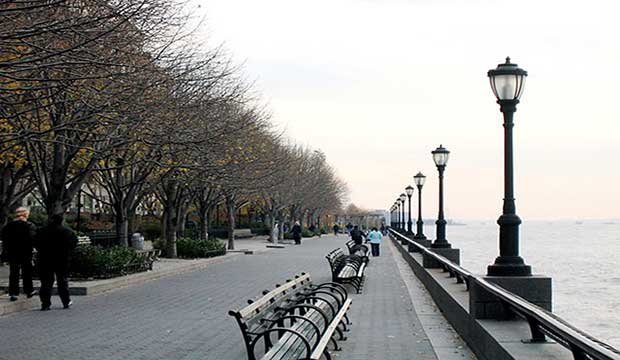Esplanade Battery Park New York City