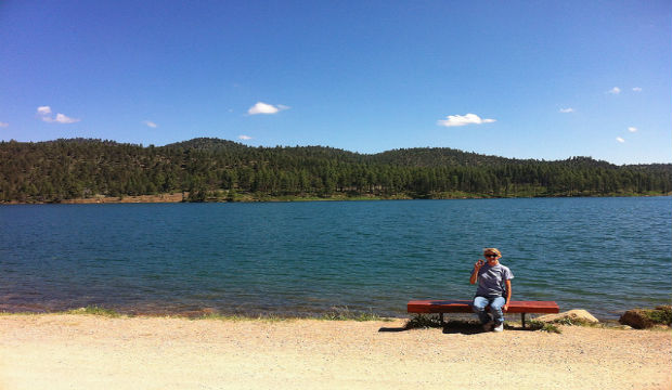 lake mescalero Ruidoso, New Mexico