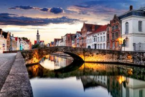 Bruges beautiful city of Belgium
