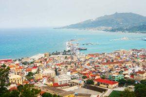 Zante city or Zakynthos