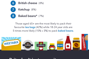 travel trends in UK, infographic