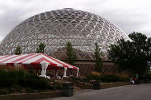 Henry Doorly Zoo Desert Dome in Omaha Nebraska