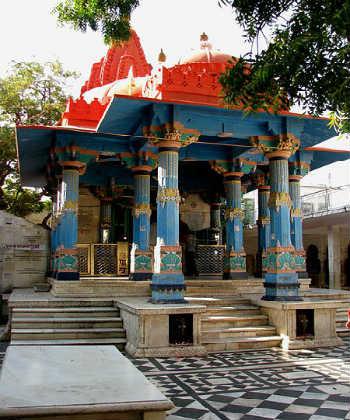 Brahma temple in Pushkar, Rajasthan