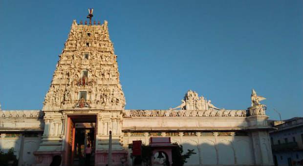 RangJi temple in Pushkar, Rajasthan