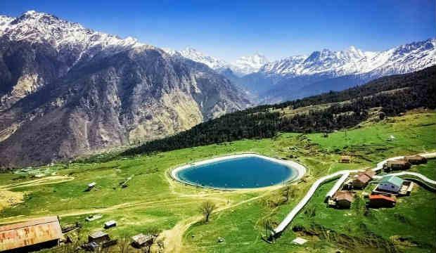 Auli (man-made-lake)