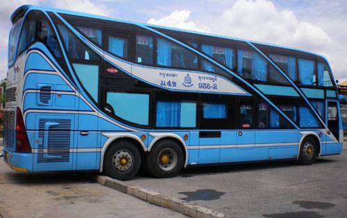 Thailand city bus