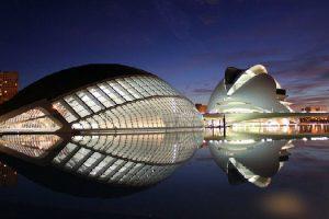 Valencia Spain modern architecture