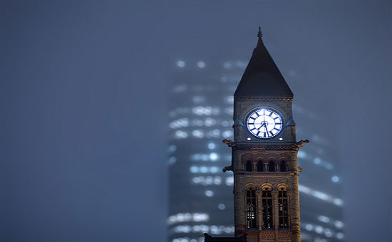 peter pan clock tower