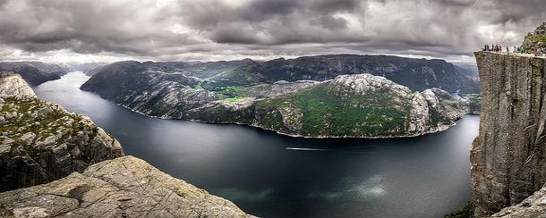 Lysefjord Norway Landscape