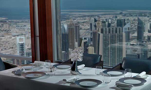 Atmosphere restaurant Dubai