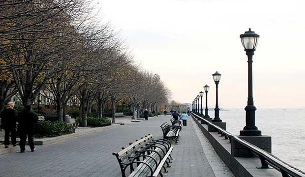 Esplanade Battery Park New York City