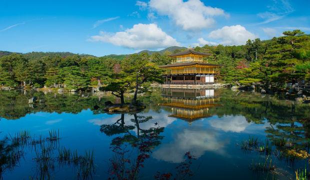kinkakuji golden pavillion Kyoto Japan