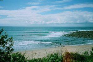 angourie surf break Yamba, Australia