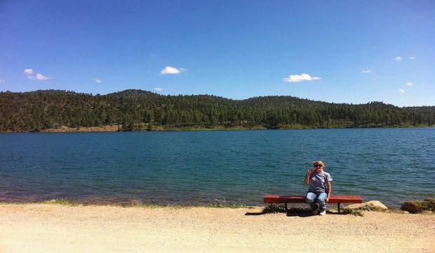 lake mescalero Ruidoso, New Mexico