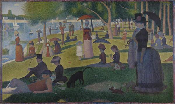 Georges-Seurat A Sunday on La Grande Jatte