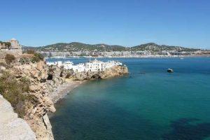 ibiza mediterranean island in Spain