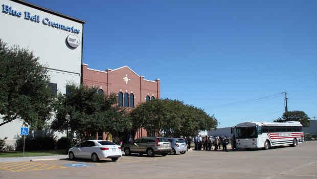 Blue Bell creameries in Brenham, Texas
