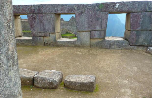 temple of three windows in Machu Picchu