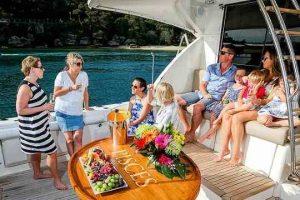 family friendly boat Sydney